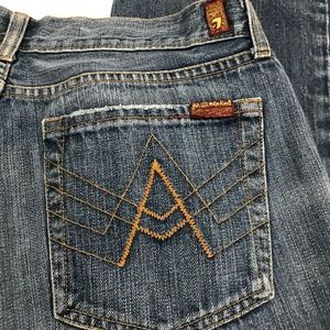 "7 For All Mankind ""A"" Pocket Jeans Size 33"